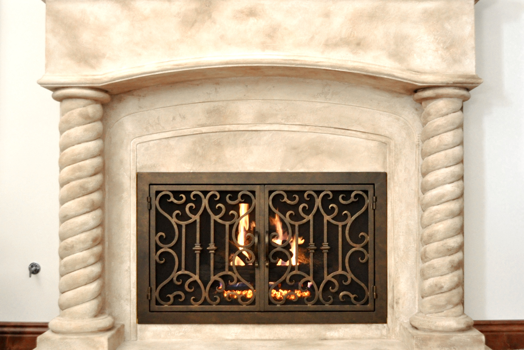 Carlsbad 23 Fireplace Door