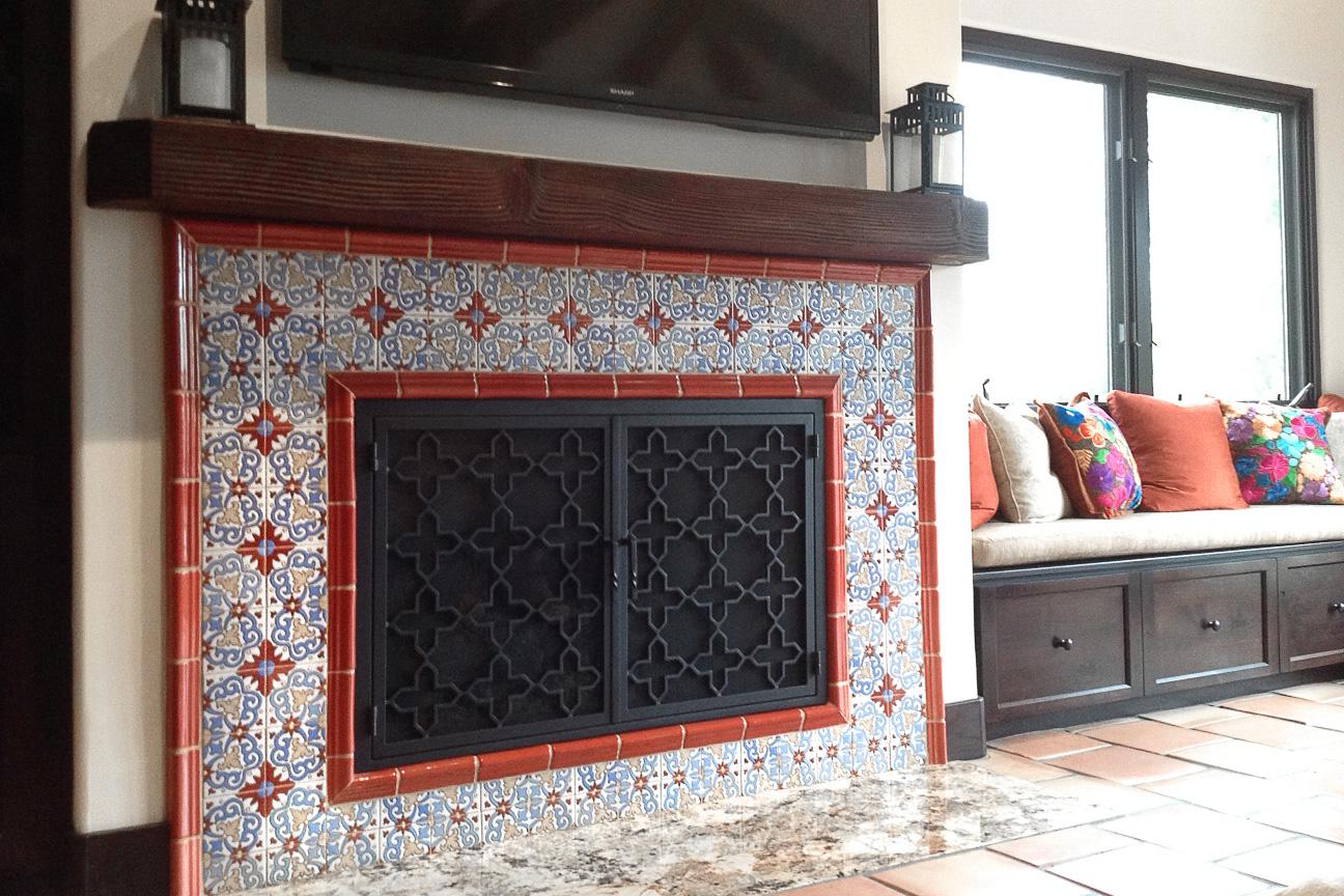 Sky 24 Fireplace Door