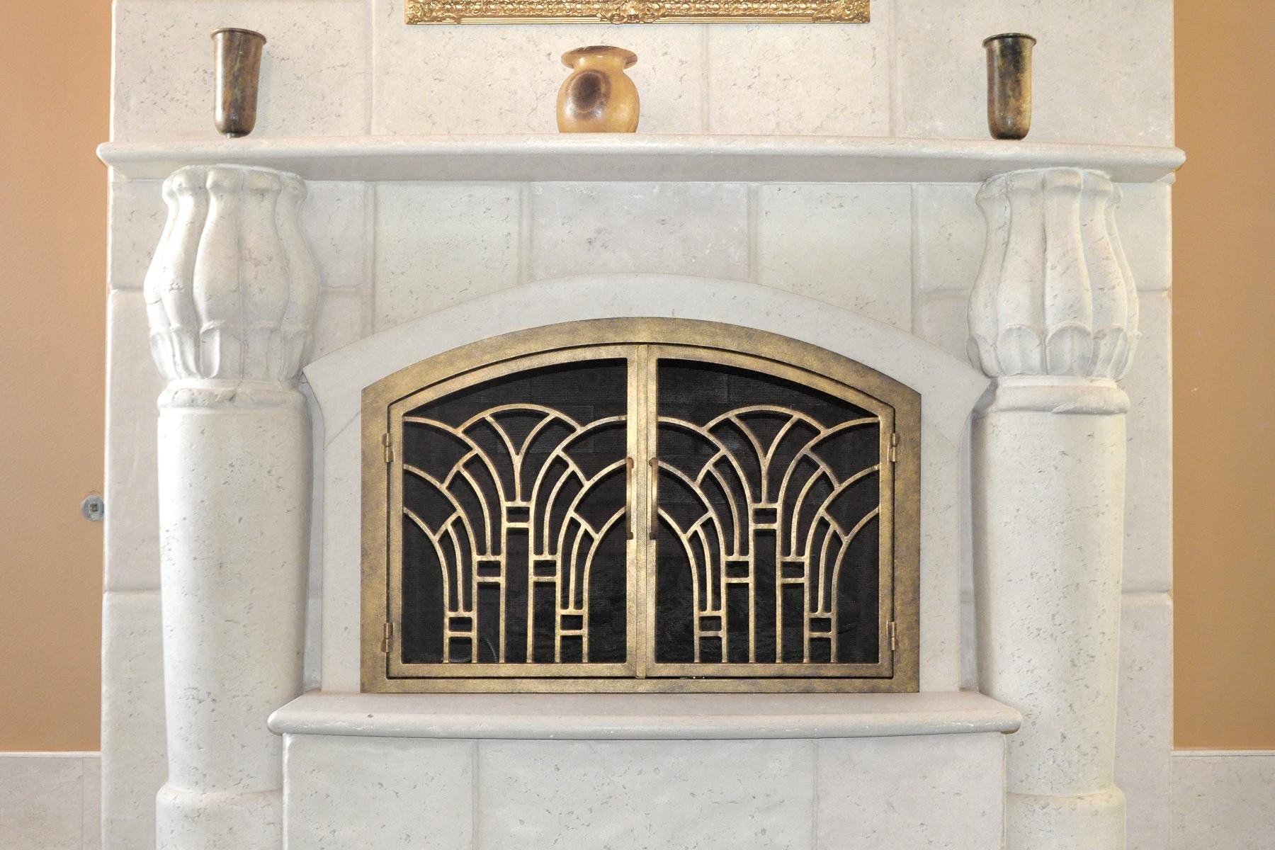 Alexandria Fireplace Door