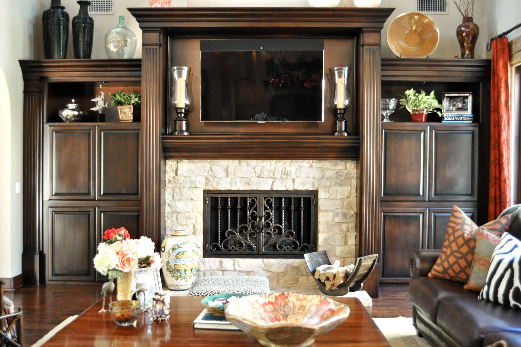 Arcadia 10 Fireplace Door