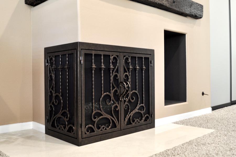 Arcadia 10 L Shape Fireplace Doors