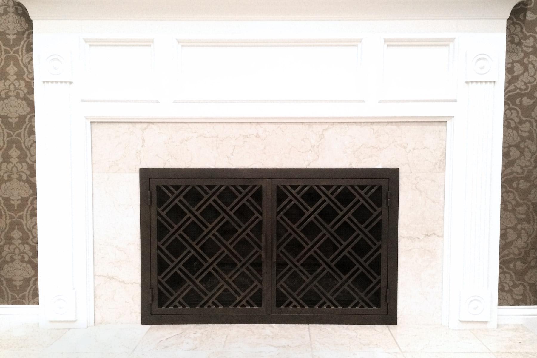 Beacons 26 Fireplace Door