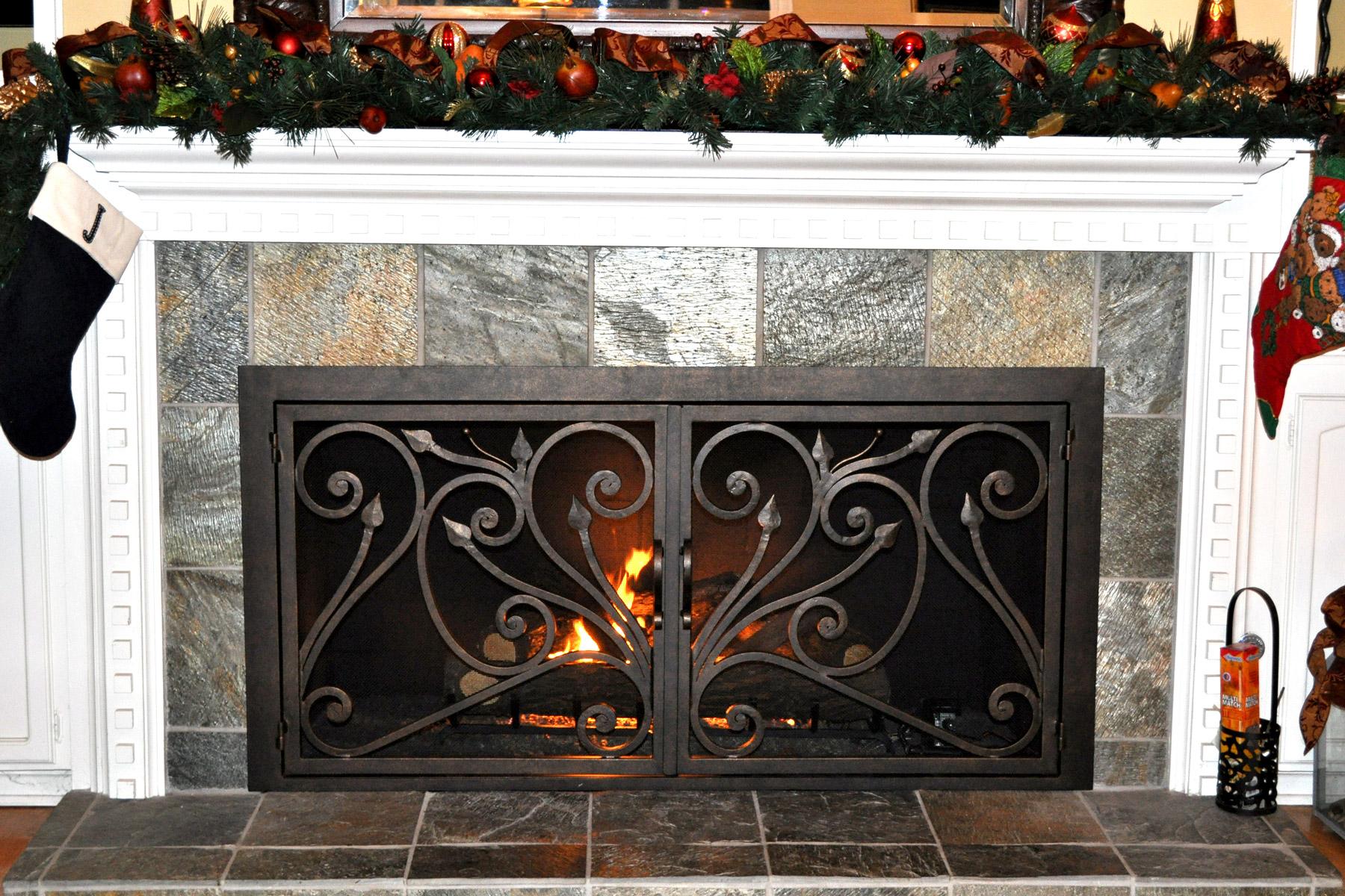 Catalina 14 Fireplace Door