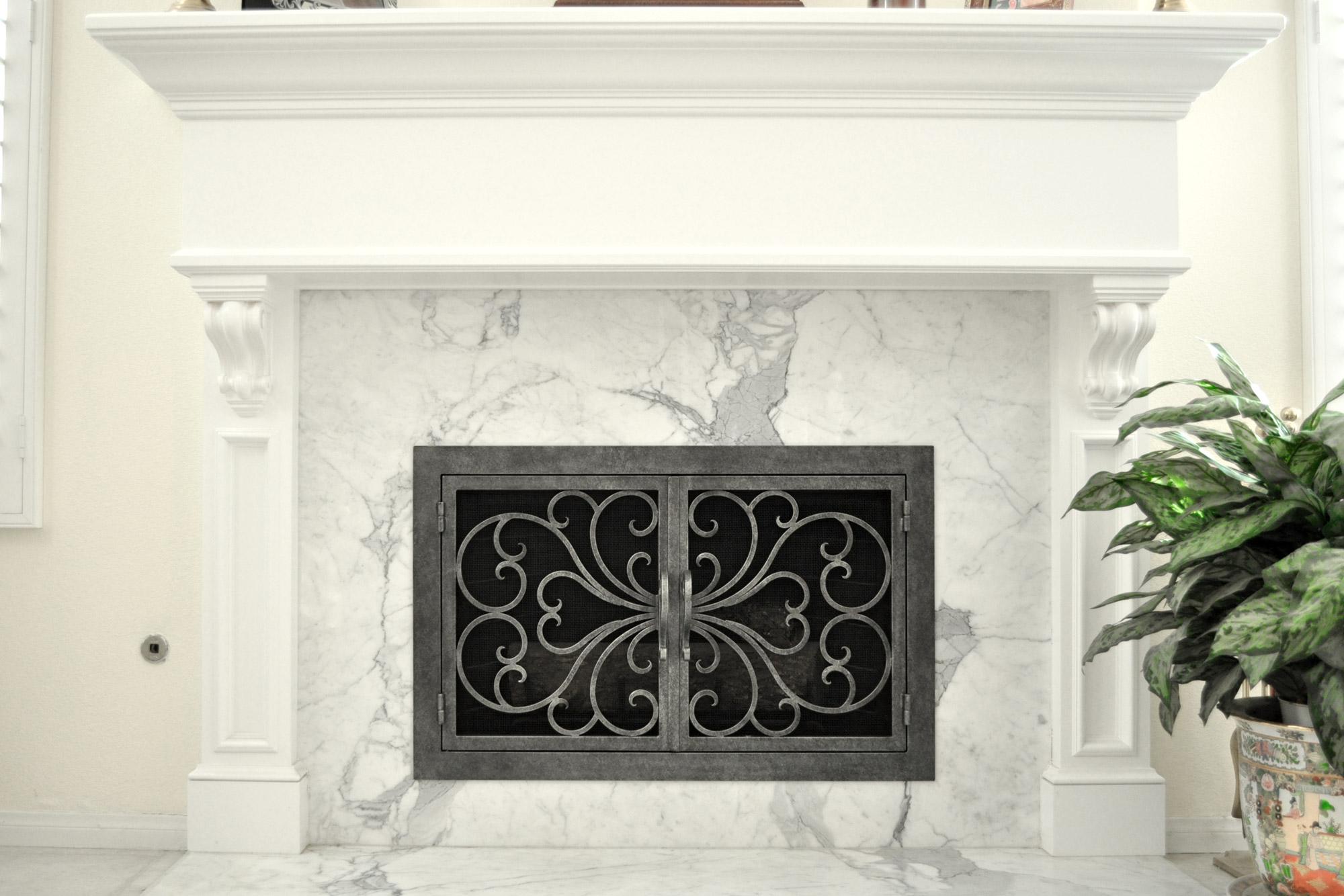 Classic 1 Fireplace Door
