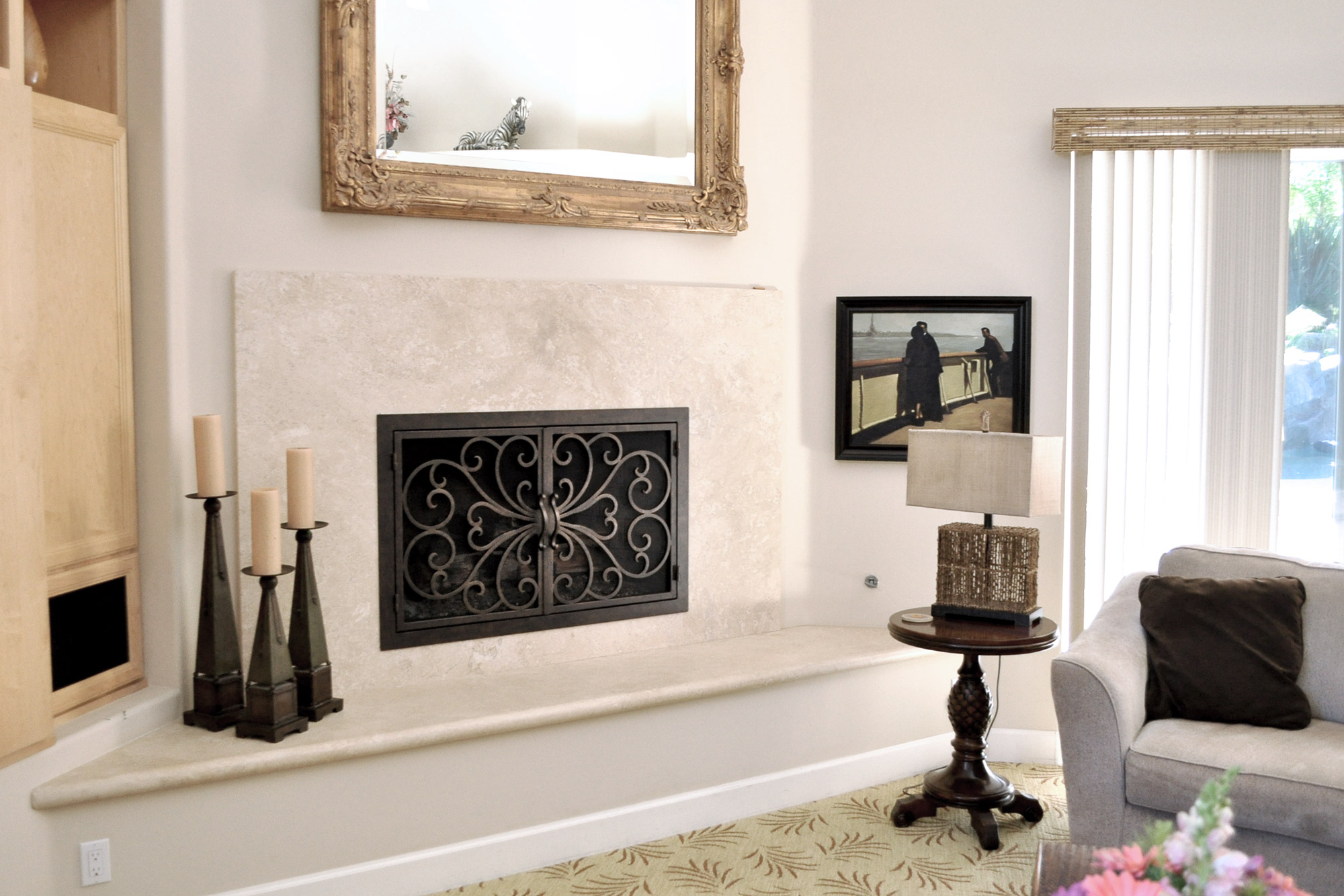 Classic 1 Fireplace Door