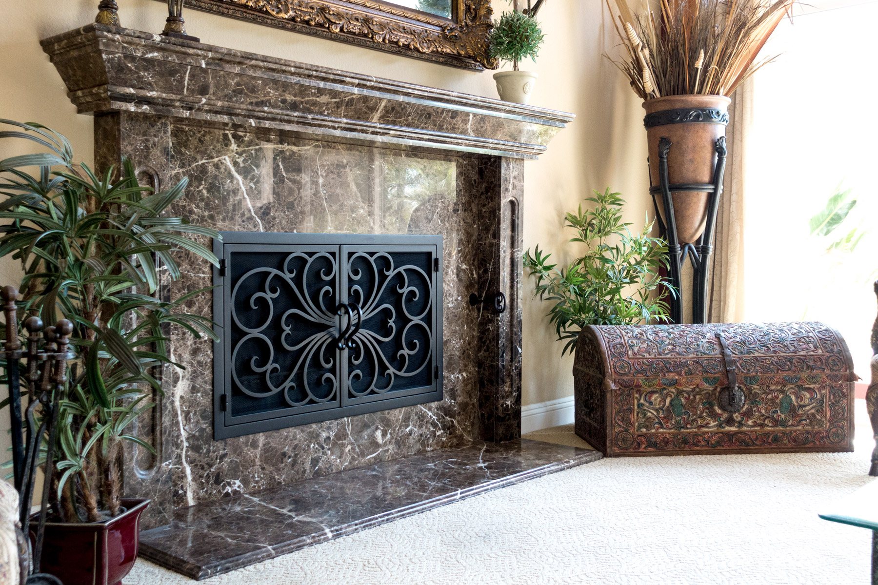 Classic Fireplace Door 1