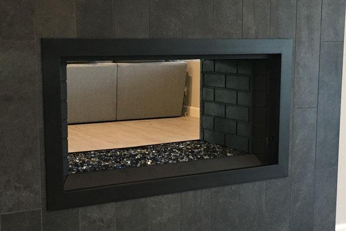 Simple Fireplace Door Frame