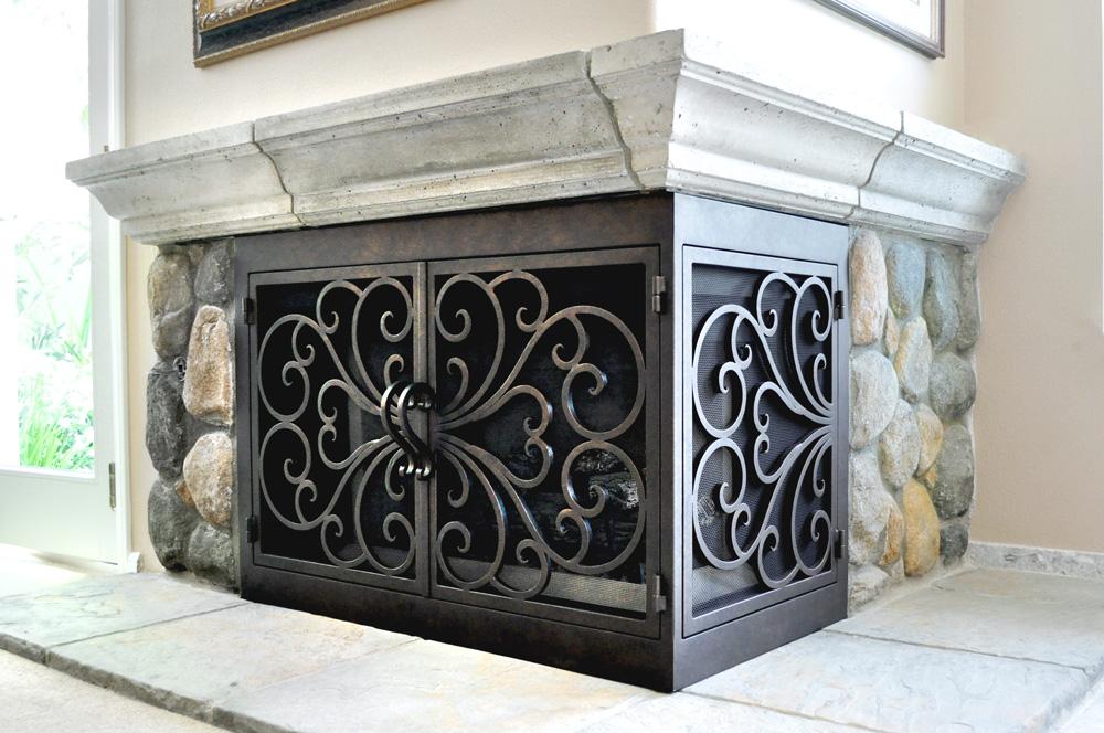 FIREPLACE DOORS – AMS Fireplace Inc.