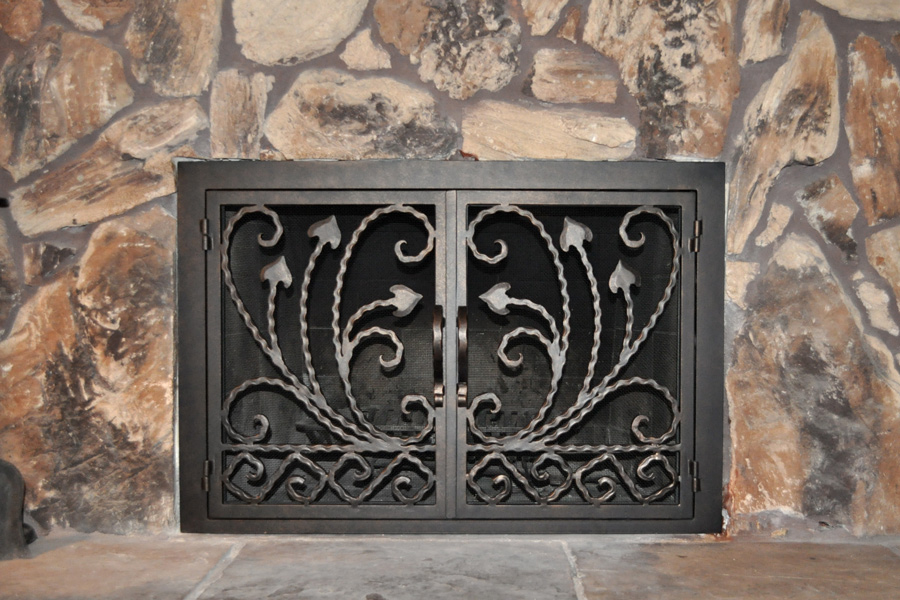 Montclair 13 Fireplace Door