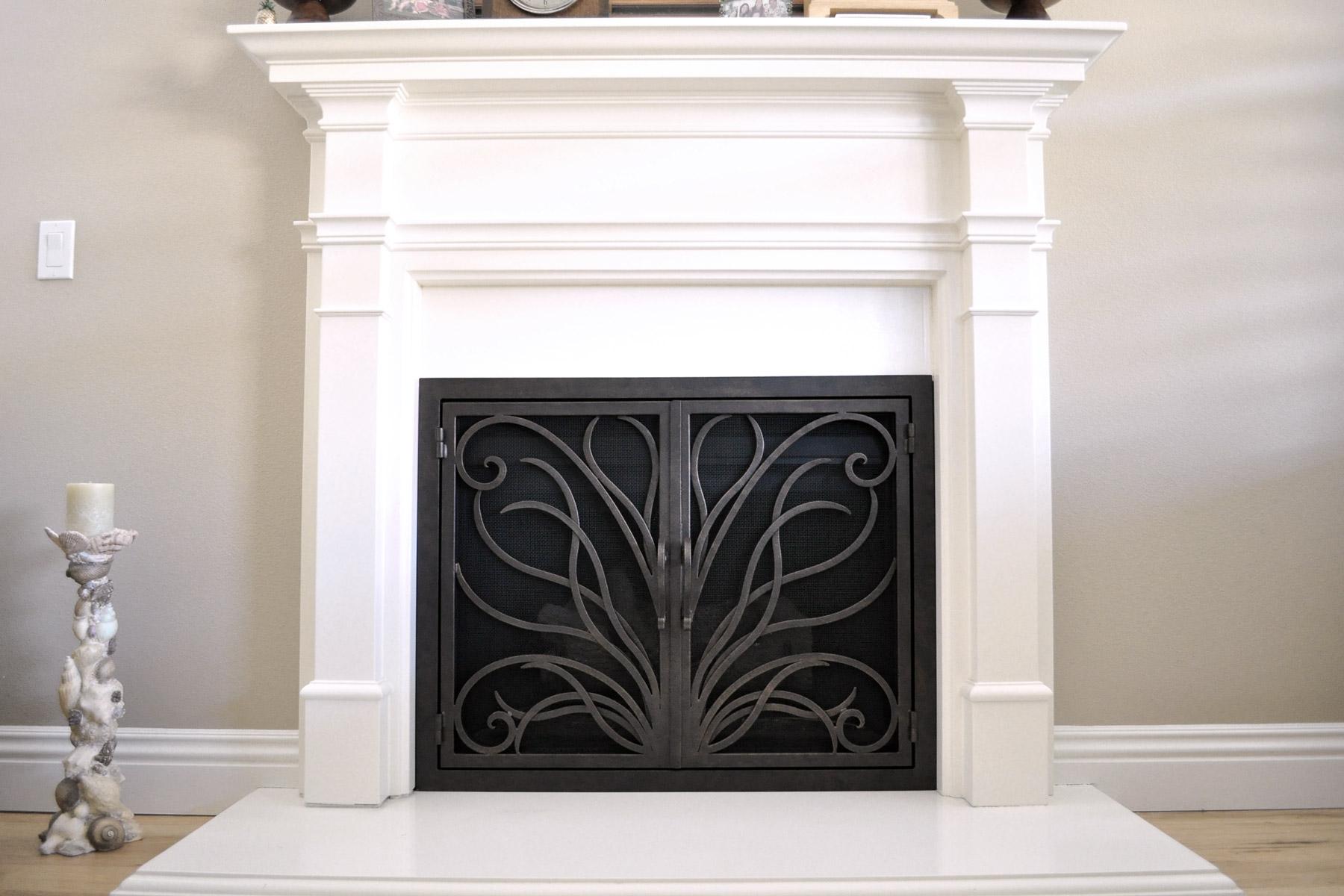 Napa 17 Fireplace Door