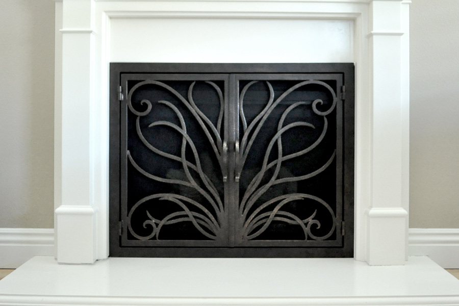 Napa 17 Fireplace Doors