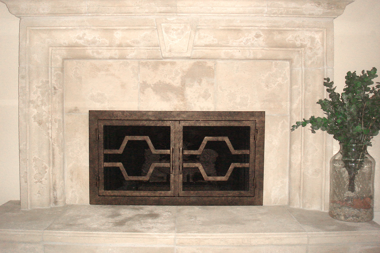 Ovation Fireplace Door