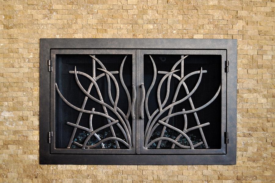 Saratoga 16 Fireplace Doors