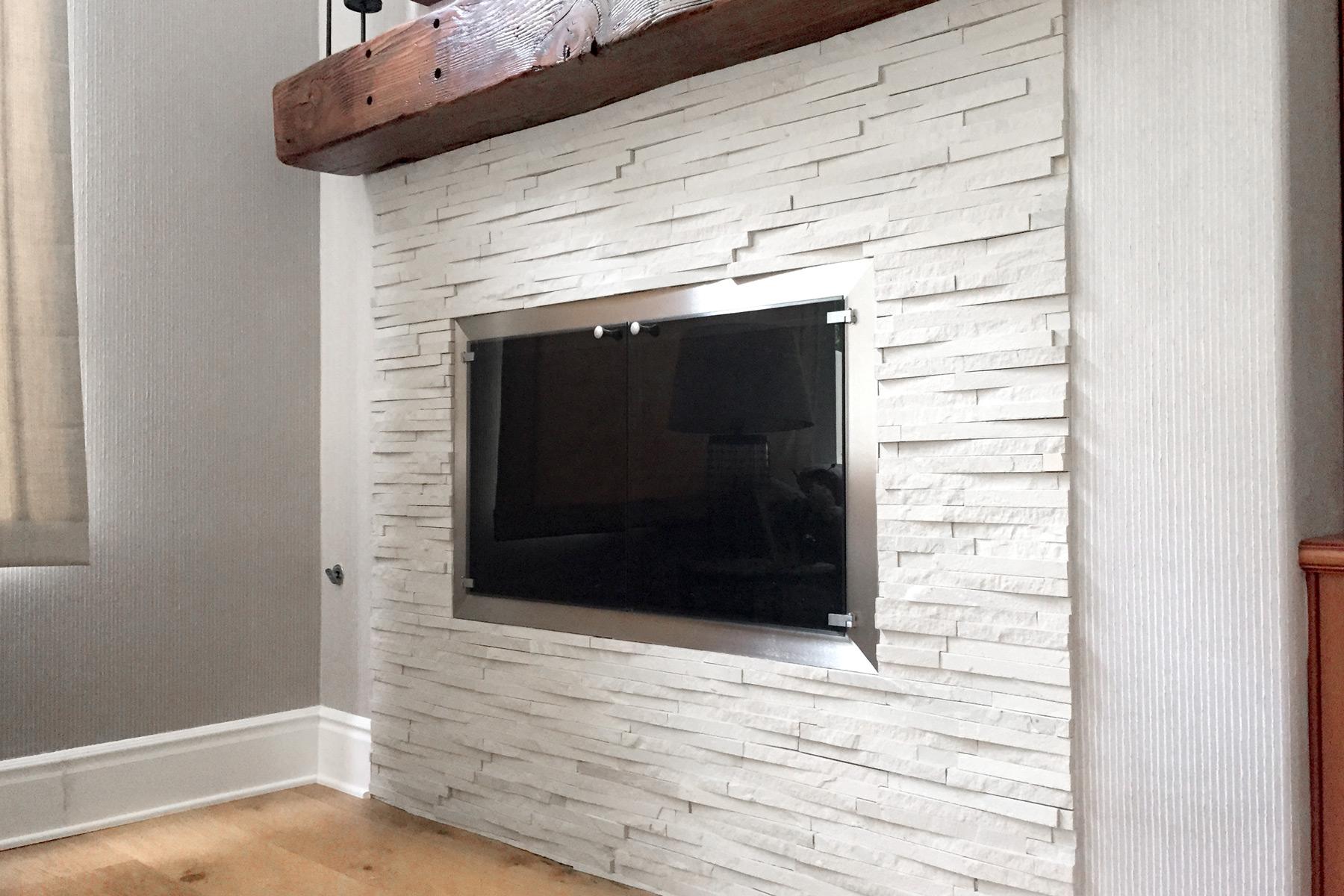 Spectrum 29 Rectangular Fireplace Door