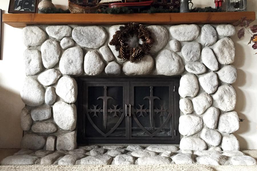 Autumn 30 Fireplace Door