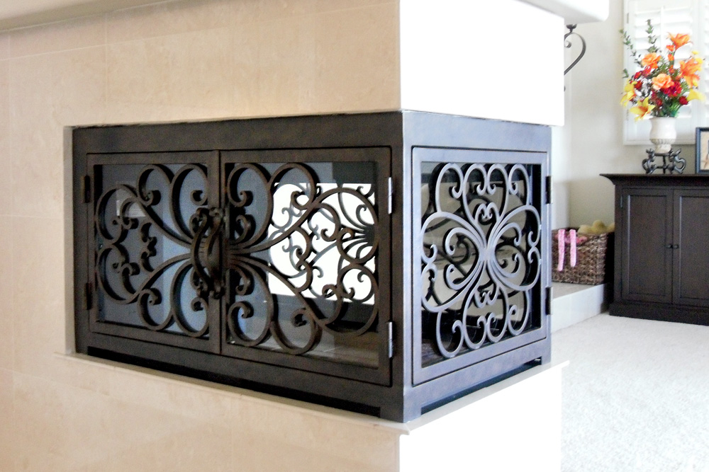 Classic 1 U Shaped Fireplace Door