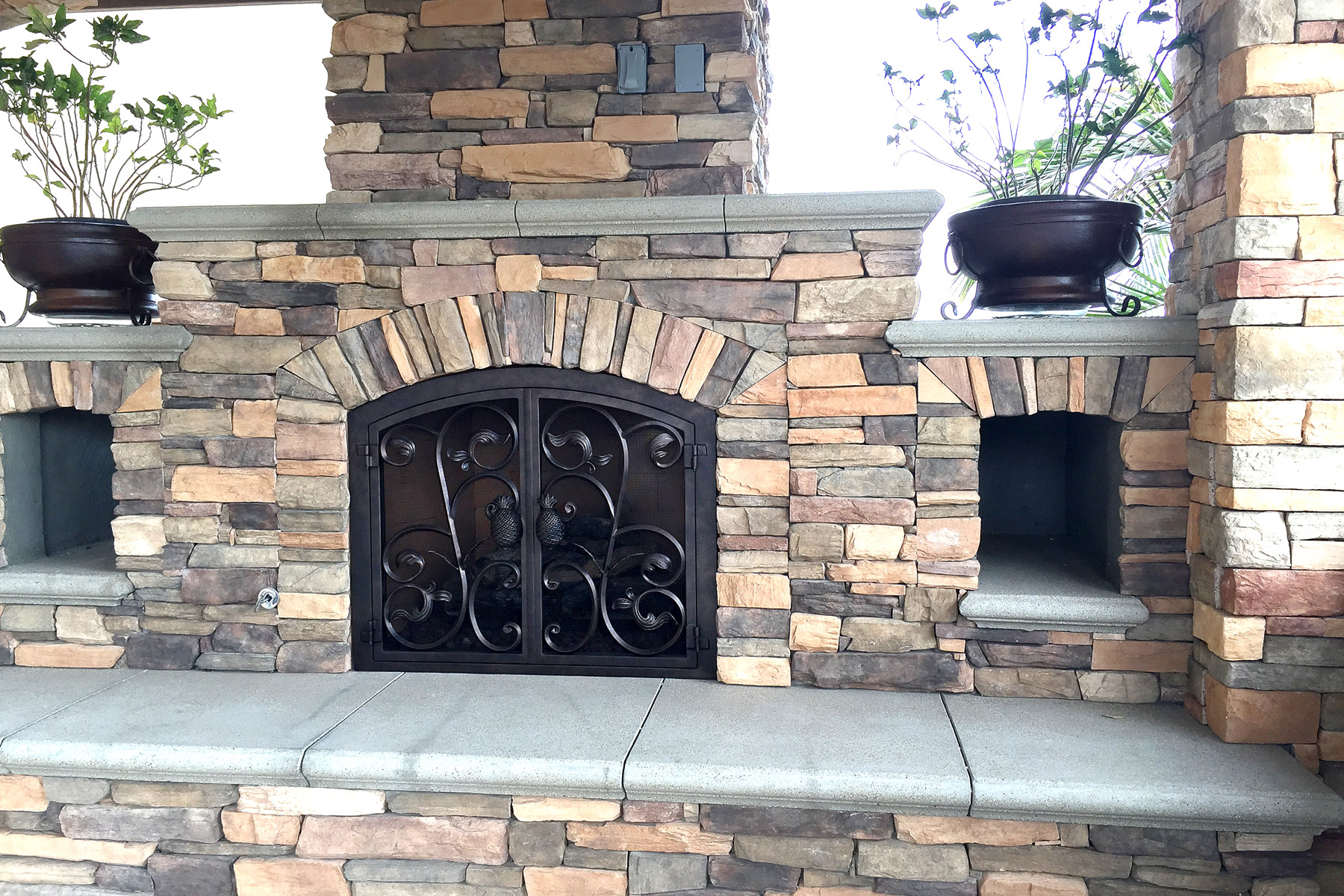 Breeze 38 Fireplace Door