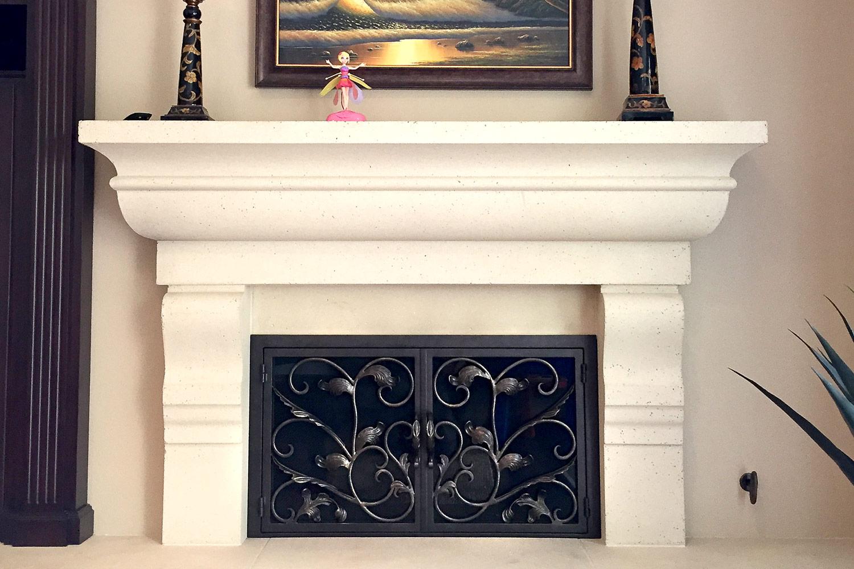 Camelia 49 Fireplace Doors