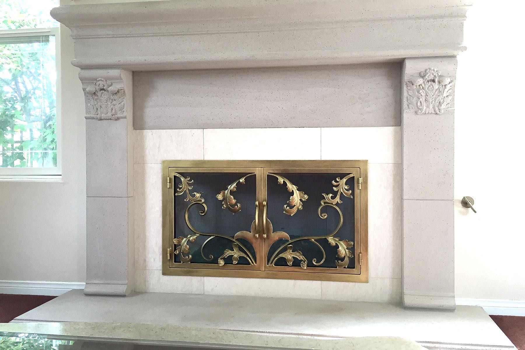 Goldwin 36 Fireplace Door