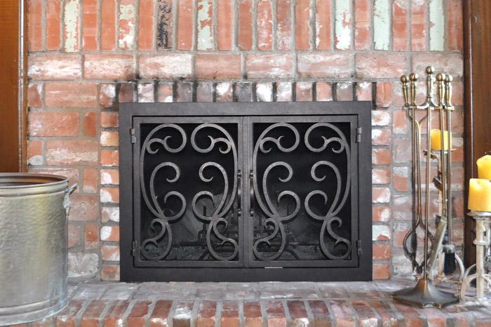 Kabuto 45 Fireplace Door