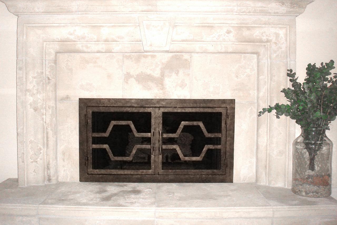Ovation 37 Fireplace Door Rectangular