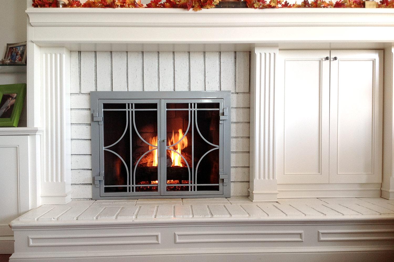 Stella 50 Fireplace Door