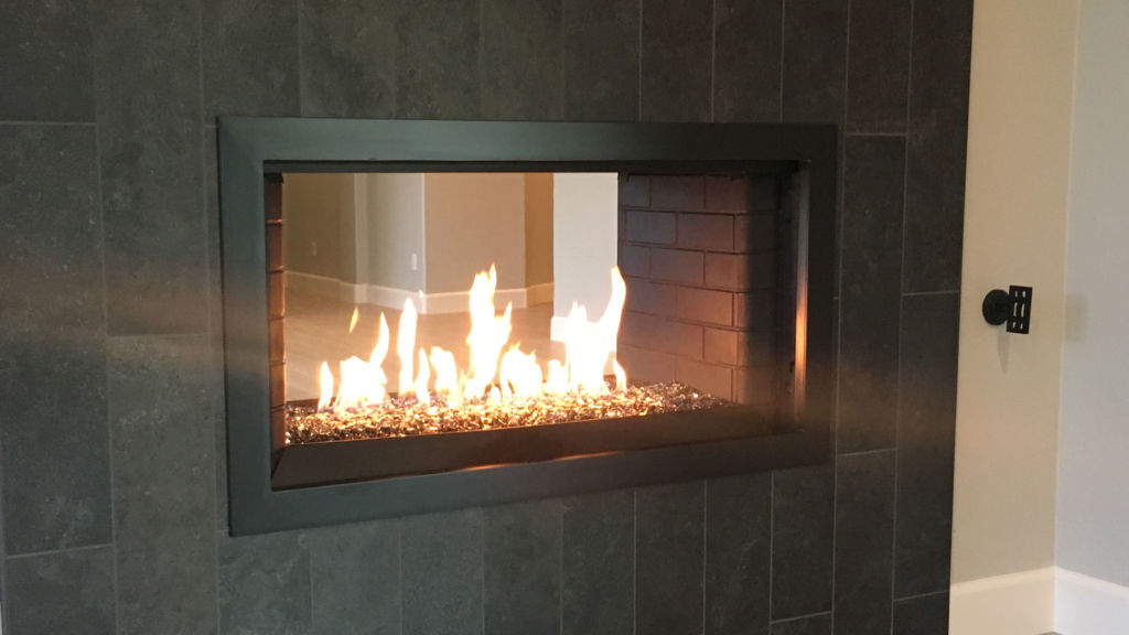 Frame Only - Simple Fireplace Door
