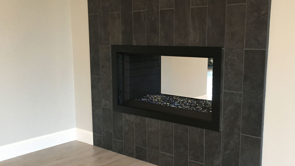 Frame Only - Simple Fireplace Door - Other Side
